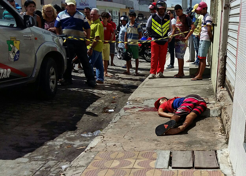 assassinato centro Itabaiana Sergipe