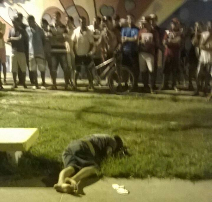 Assassinato Areia Branca Sergipe