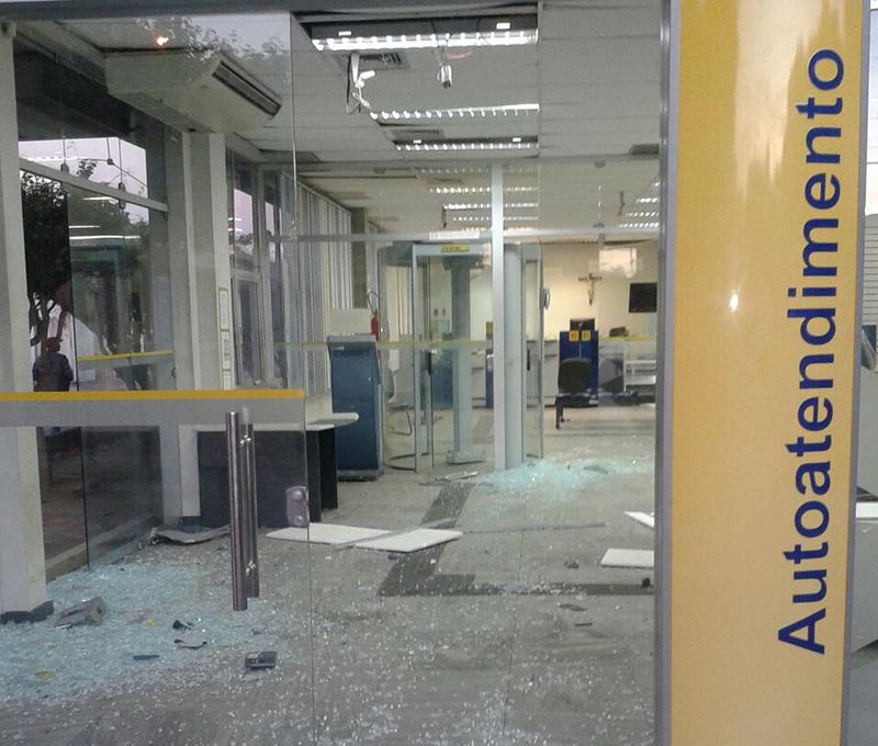 explosivos bancos Sergipe