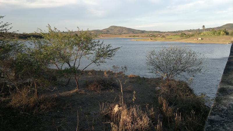 Barragem Jacarecica I povoado Agrovila Itabaiana Sergipe