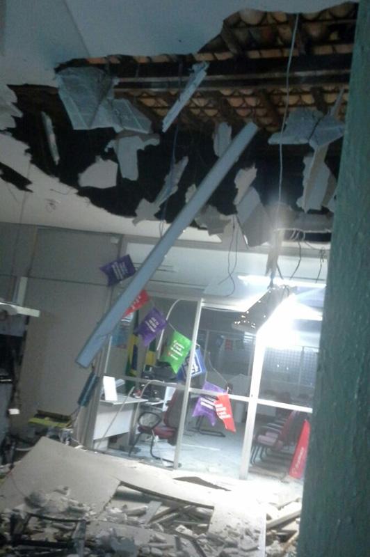 explosão caixas eletrônicos Bradesco Poço Redondo Sergipe