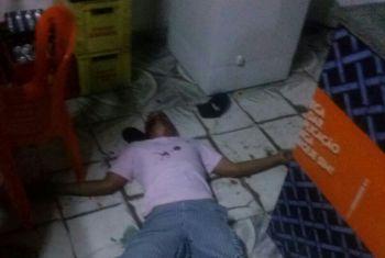 Jovem � executado a tiros dentro de bar na cidade de Ribeir�polis