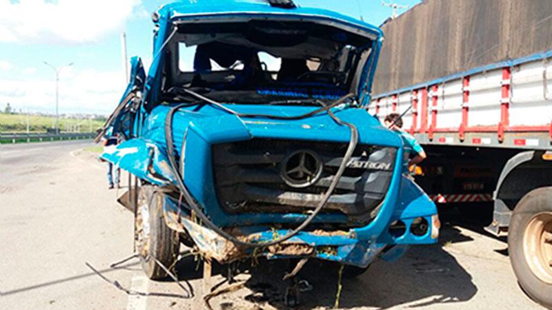 acidente caminhão Itabaiana Sergipe