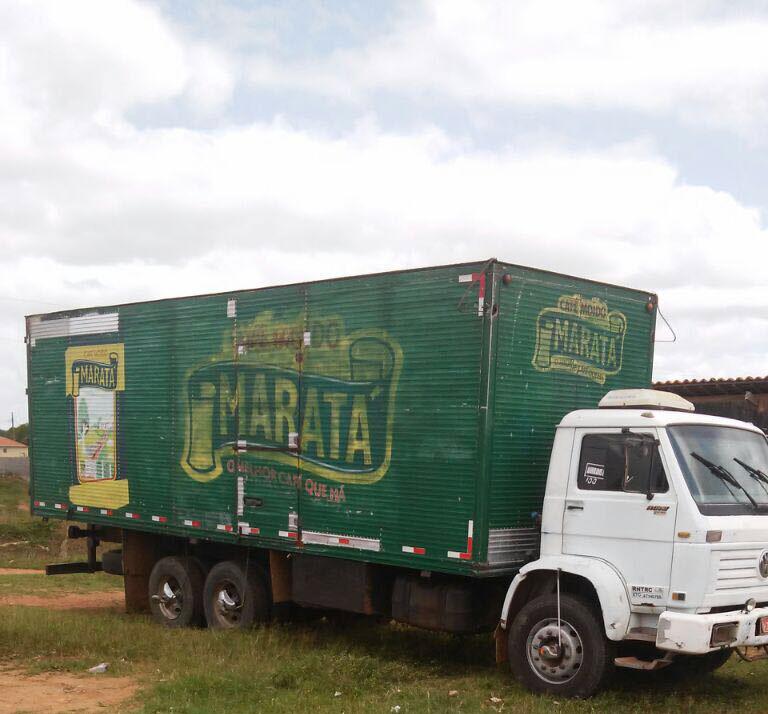 Caminhão Café Maratá roubado Fátima Bahia