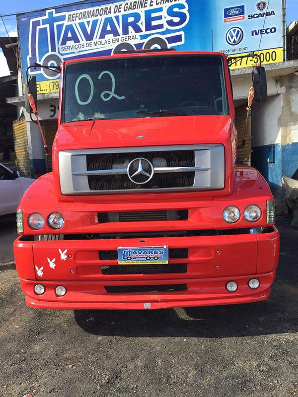 caminhões furtados oficina Itabaiana Sergipe