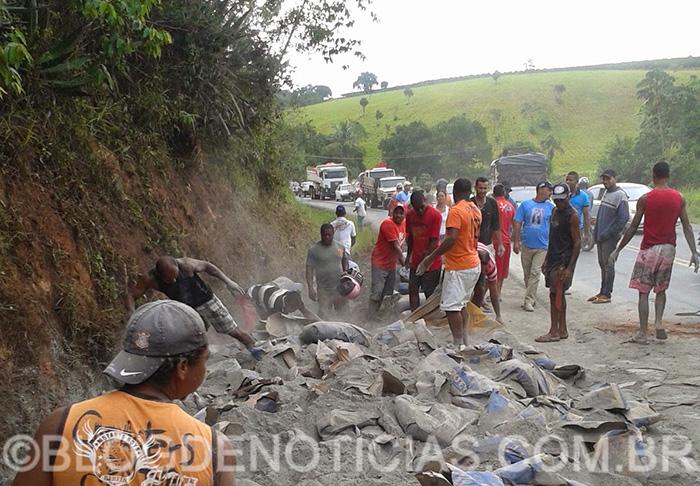 caminhoneiro Ribeirópolis Sergipe acidente Bahia