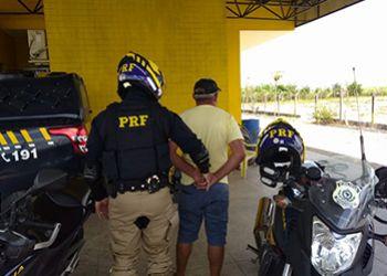 Foragido da Justiça sergipana é preso pela PRF no Estado de Alagoas