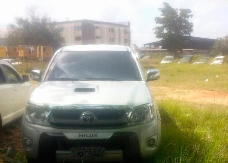caminhonete Toyota tomada assalto Ribeirópolis Sergipe