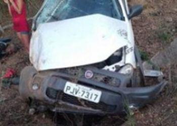 Capotamento de veículo mata motorista no Alto Sertão Sergipano