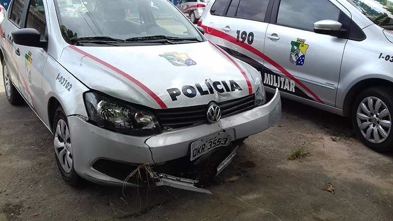 Capotamento viatura policial Rodovia João Paulo II Campo do Brito Sergipe