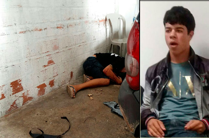 assassinato loja Itabaiana Sergipe