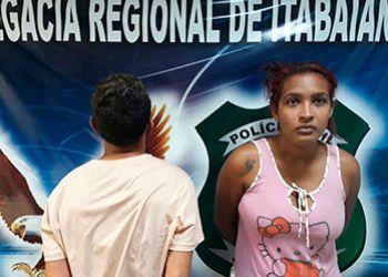 Casal � flagrado de posse de arma de fogo na cidade de Itabaiana
