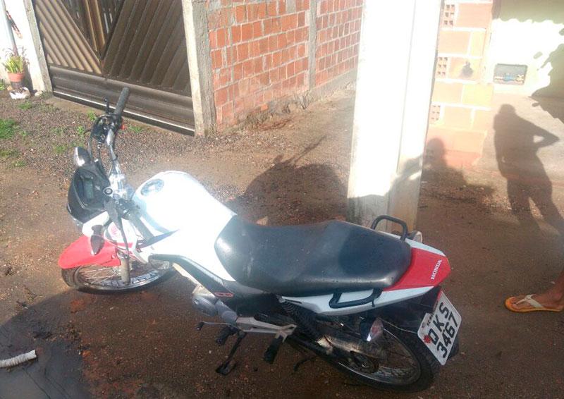 motocileta apreendida Ribeirópolis Sergipe
