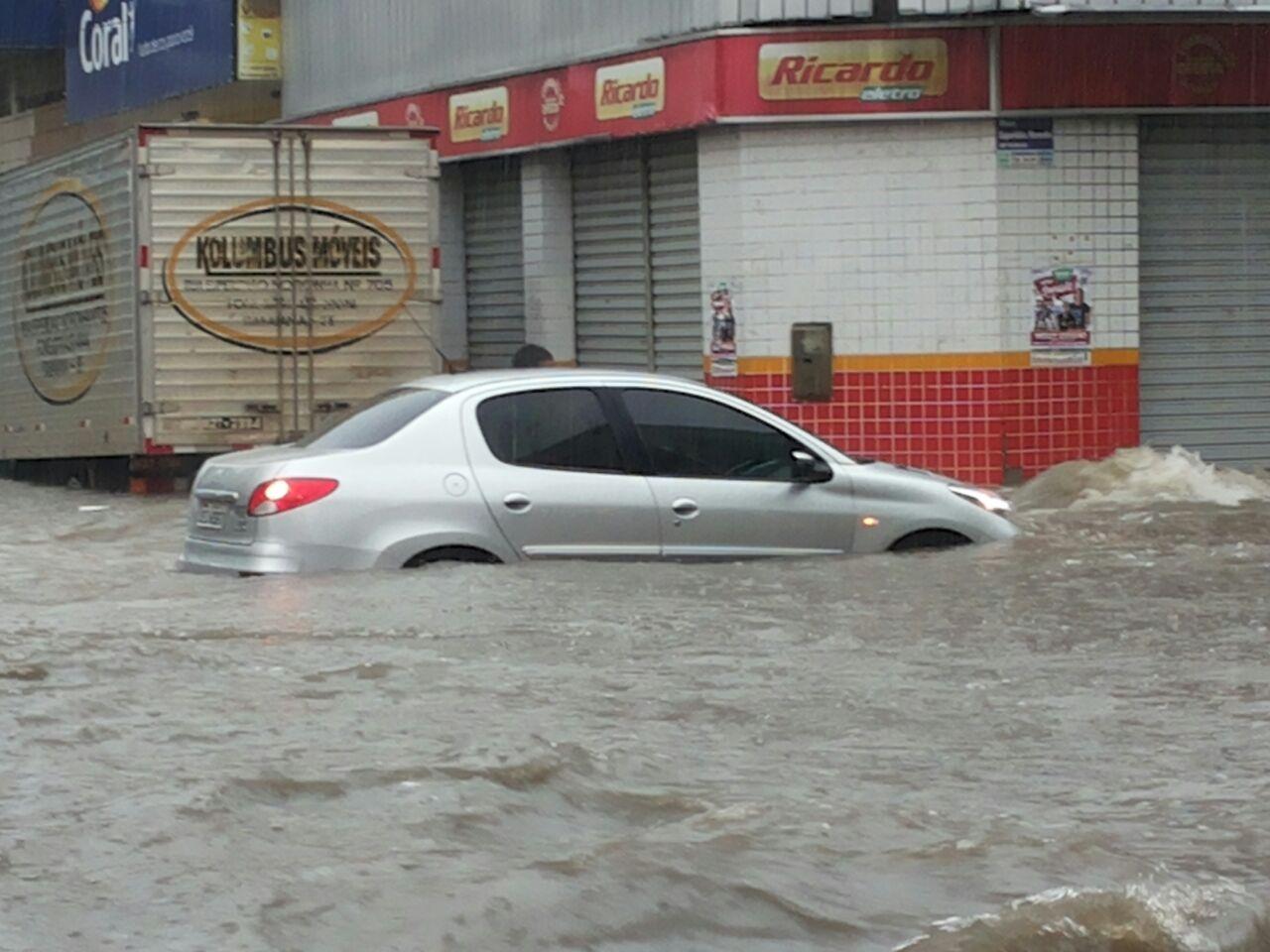 itabaiana chuvas temporal