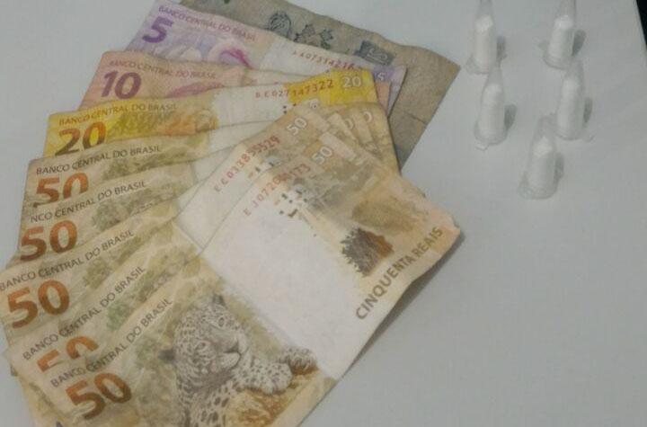 ciclomotor roubado Itabaiana Sergipe cocaína