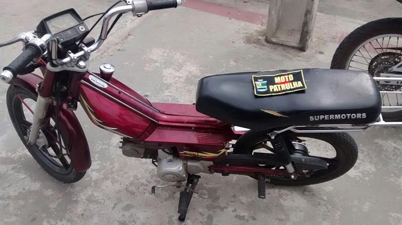 ciclomotor roubado Itabaiana Sergipe