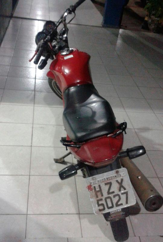 ex-presidiário moto roubada Itabaiana Sergipe