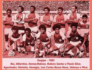 Club Sportivo Sergipe Campeão estadual 1982