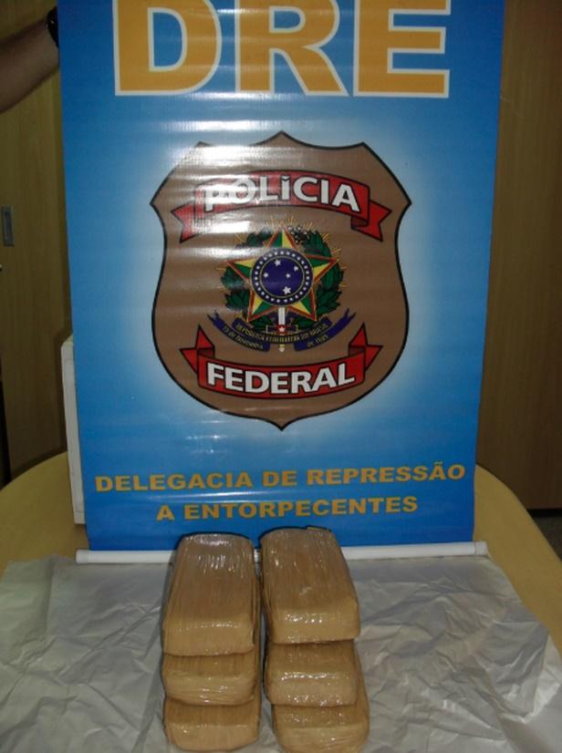 Cocaína Polícia Federal Sergipe