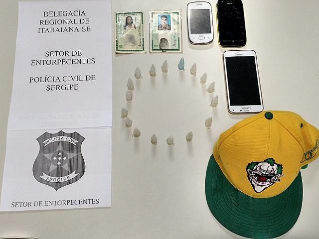 cocaína Itabaiana Sergipe