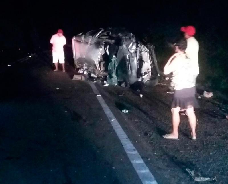 acidente BR-235 Fazenda Boa Luz