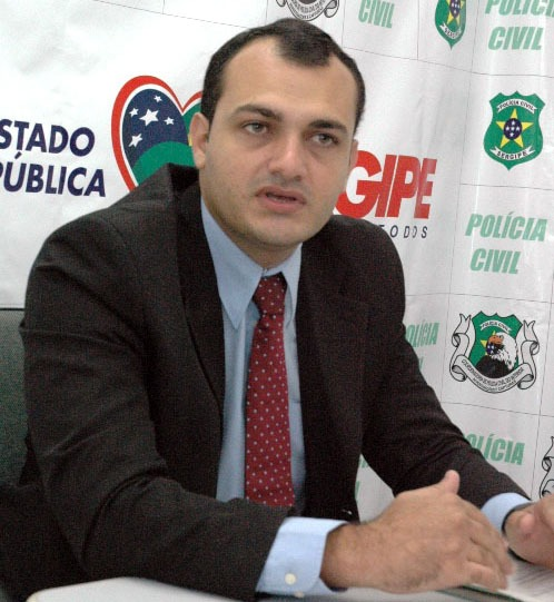 Eurico Nascimento Delegado Polícia Civil Sergipe