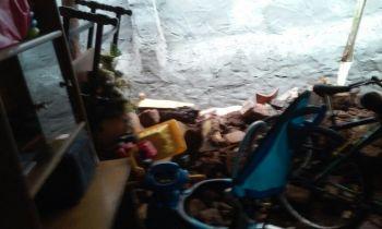 Trag�dia: M�e e filho morrem soterrados em desabamento de resid�ncia no Baixo S�o Francisco