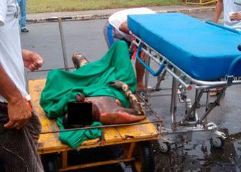 Detento sofre tentativa de morte por enforcamento e ainda tem corpo queimado dentro de pres�dio