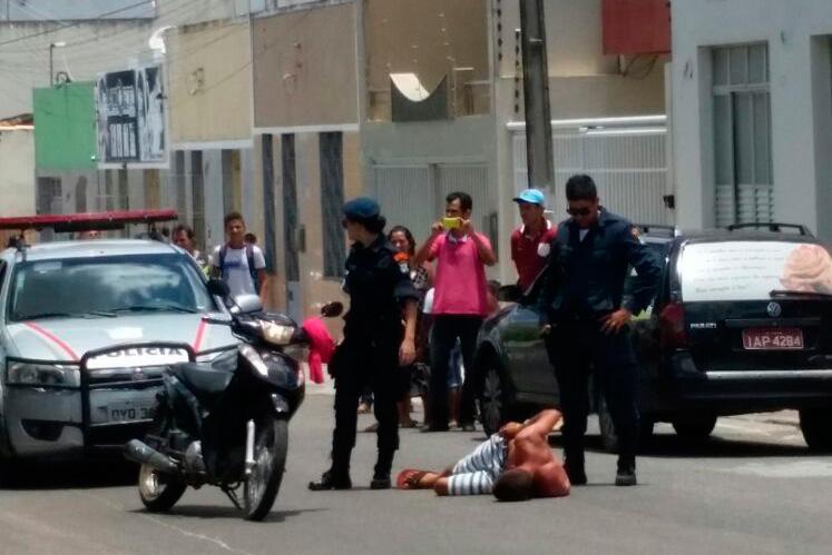 assalto centro Itabaiana Sergipe