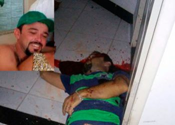 Homic�dio: Ap�s retornar de S�o Paulo, homem � assassinado em Itabaiana dentro de resid�ncia