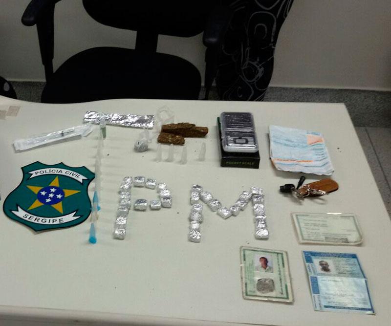 maconha, cocaína Pinhão Sergipe