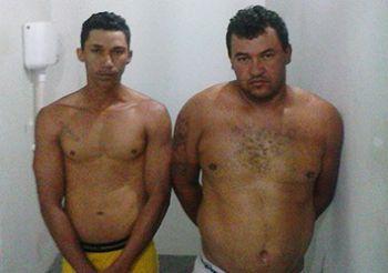 Suspeitos de assaltarem adolescente s�o presos no munic�pio de Frei Paulo