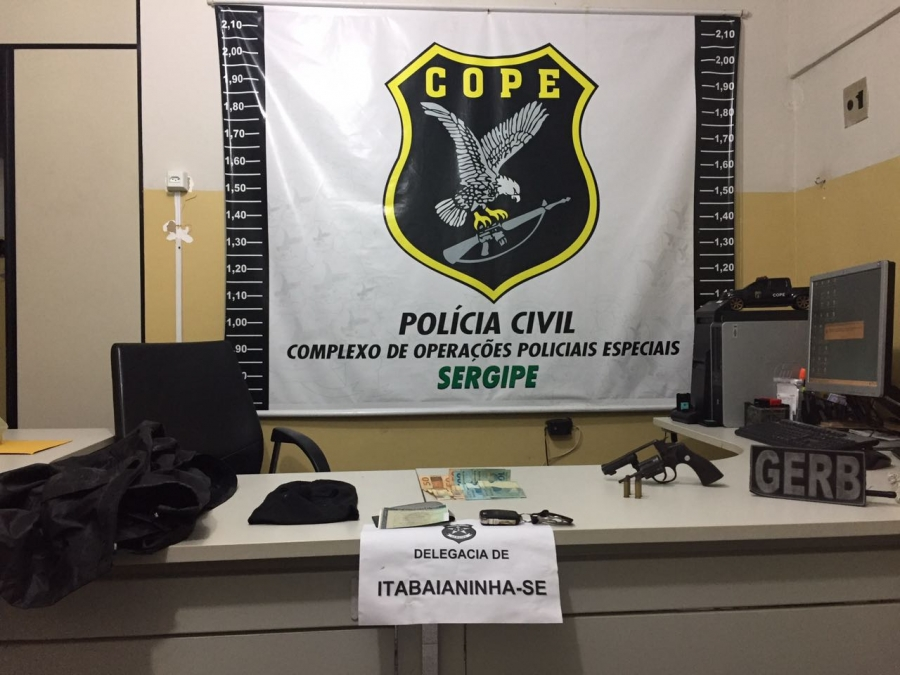 Assassinato Policial Civil Itabaianinha Sergipe