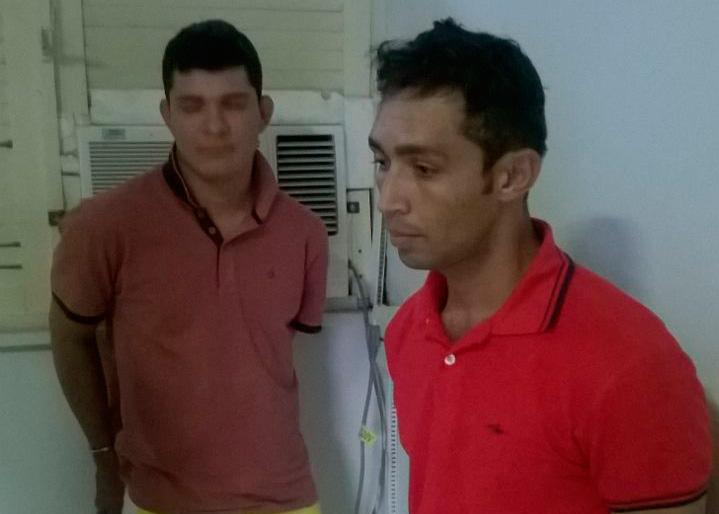 Dupla Pedro Alexandre Bahia arma de fogo Itabaiana Sergipe