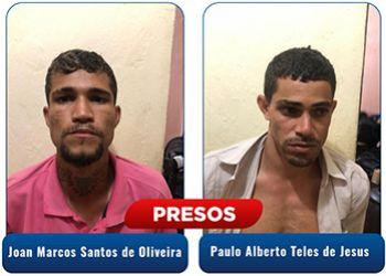 Homens suspeitos pelo delito de roubo em Ribeir�polis s�o presos pela Pol�cia Civil na Regi�o Metropolitana de Aracaju