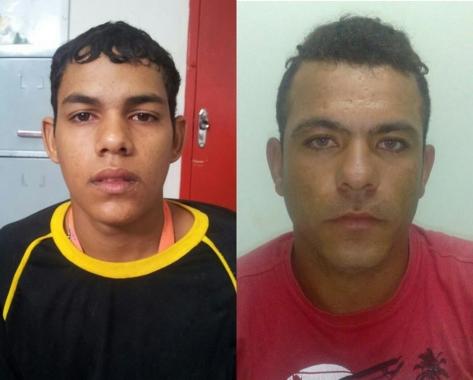 Dupla presa Frutal MG homicídio Canindé do São Feancisco Sergipe