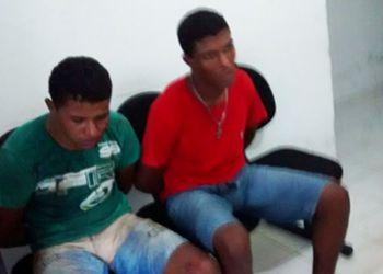 Persegui��o Policial: Dupla presa ap�s praticar a��o delituosa no Agreste Sergipano