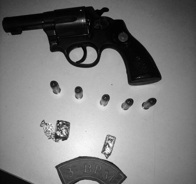 revolver calibre apreendido itabaiana sergipe
