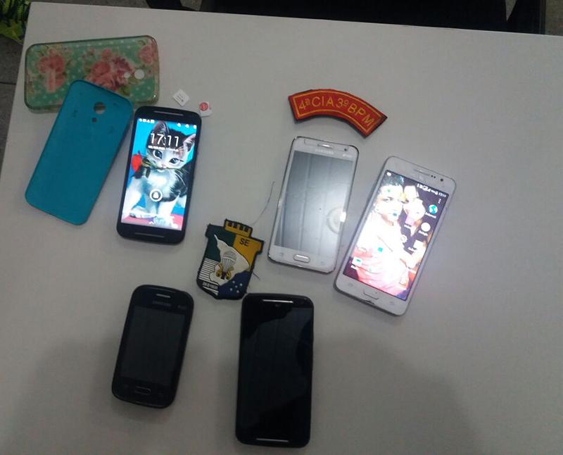 assaltos aparelhos de telefonia Celular Itabaiana sergipe