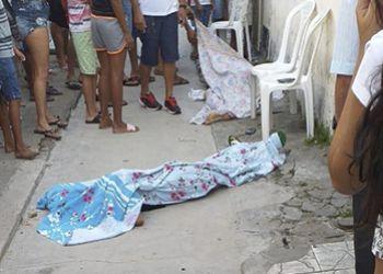 Adolescentes s�o executados a tiros na periferia da cidade de Itabaiana