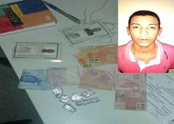 Suspeito de arrombar resid�ncia � preso em a��o da Pol�cia Militar