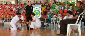 Equil�brio Capoeira � destaque no Campeonato Sergipano