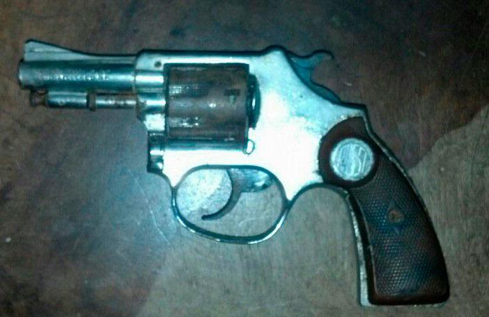 apreensão arma de fogo Itabaiana Sergipe