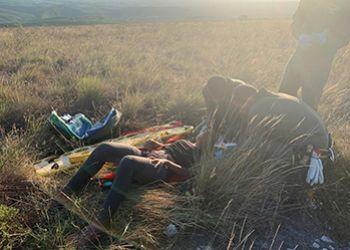 Seis envolvidos no desaparecimento na Serra da Miaba s�o presos pela Pol�cia Civil
