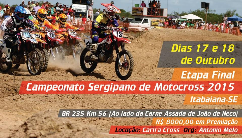 Campeonato Sergipano Motocross 2015 Itabaiana Sergipe
