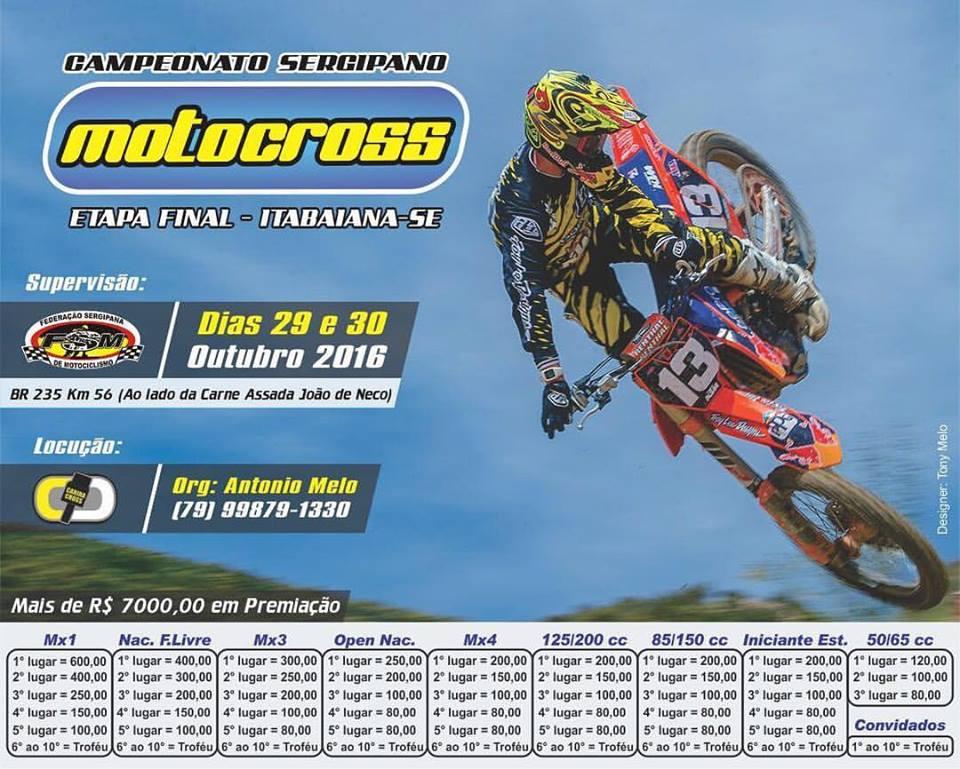 Campeonato Sergipano de Motocross 2016