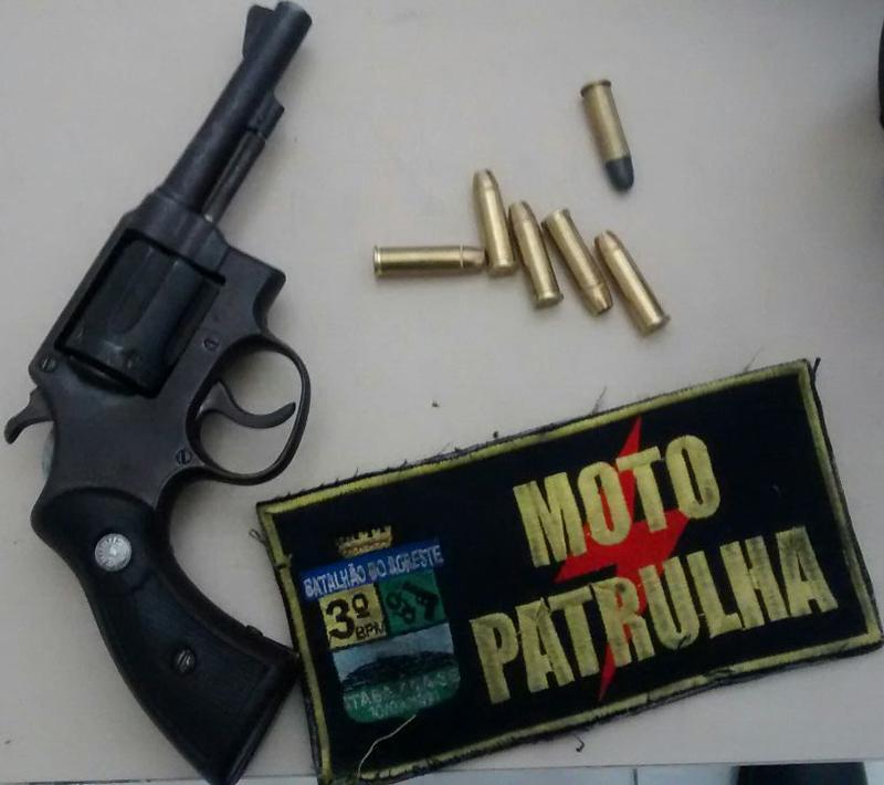 ex-presidiário revólver Itabaiana Sergipe