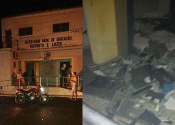 Bandidos explodem cashs de ag�ncia banc�ria no Alto Sert�o de Sergipe