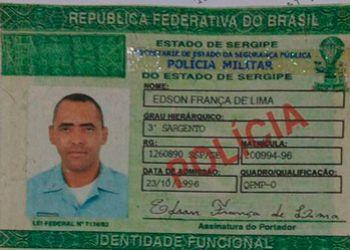 Falso Policial Militar � preso na cidade de Est�ncia com certificado de registro de arma de fogo tamb�m falsificado