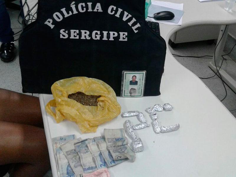 venda drogas Itabaiana Sergipe